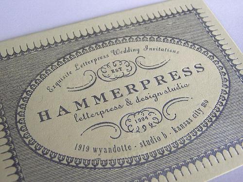 hammerpress letterpress