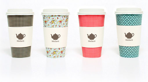 Sarah Walsh coffee cups